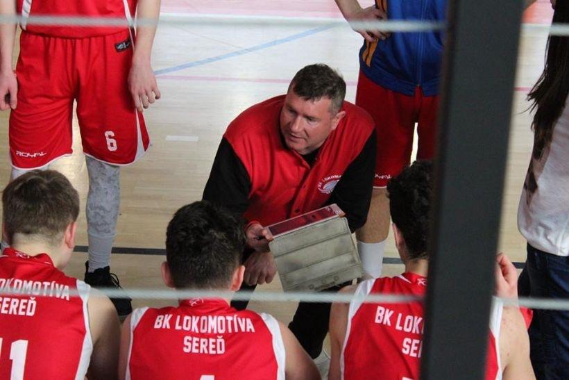Predstavujeme hlavného trénera mládeže BK AŠK Lokomotíva Sereď, Jozefa Ištoka.