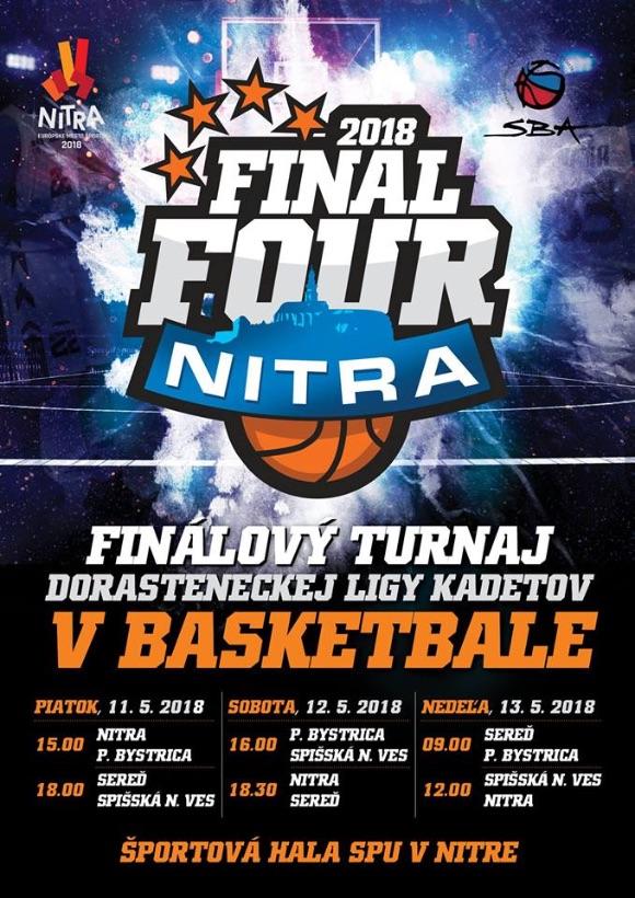 Program turnaja DL kadetov 2018 Nitra