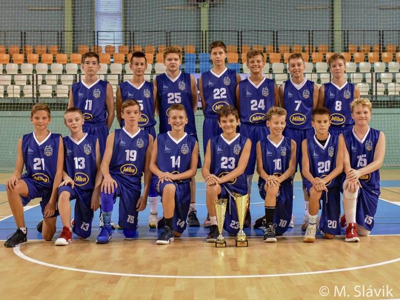 4 hráči BK Lokomotíva Sereď súčasťou turnaja EYBL