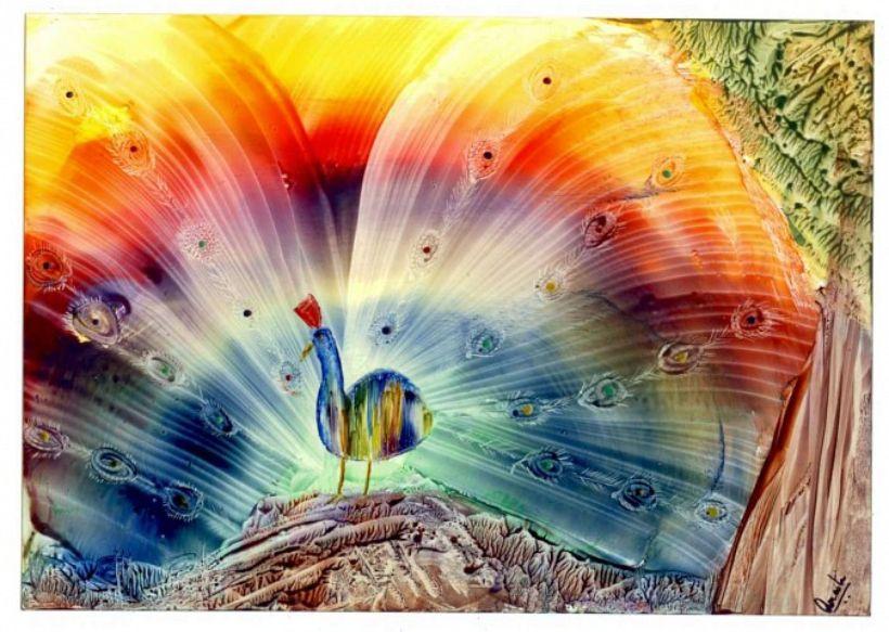 Enkaustika – maľba horúcim voskom
