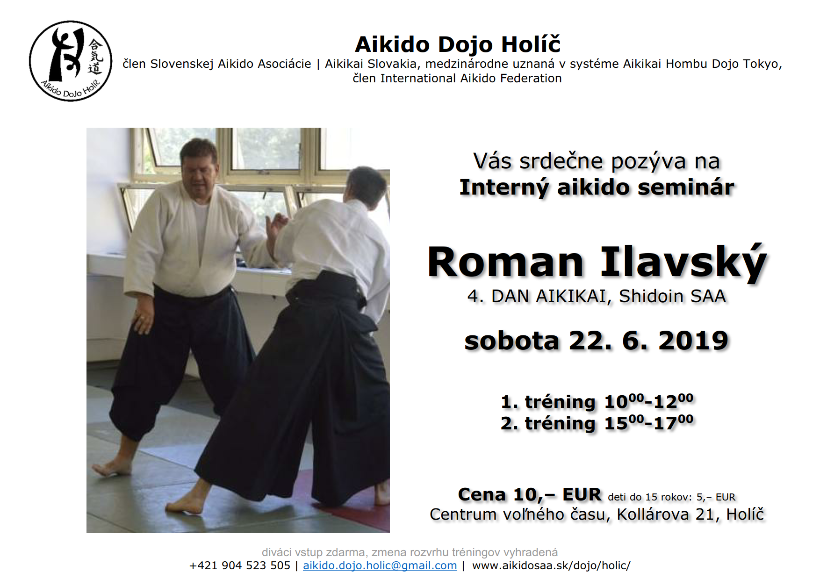 Interný aikido seminár