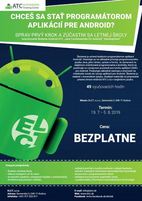 Letná škola programovania Android 2019