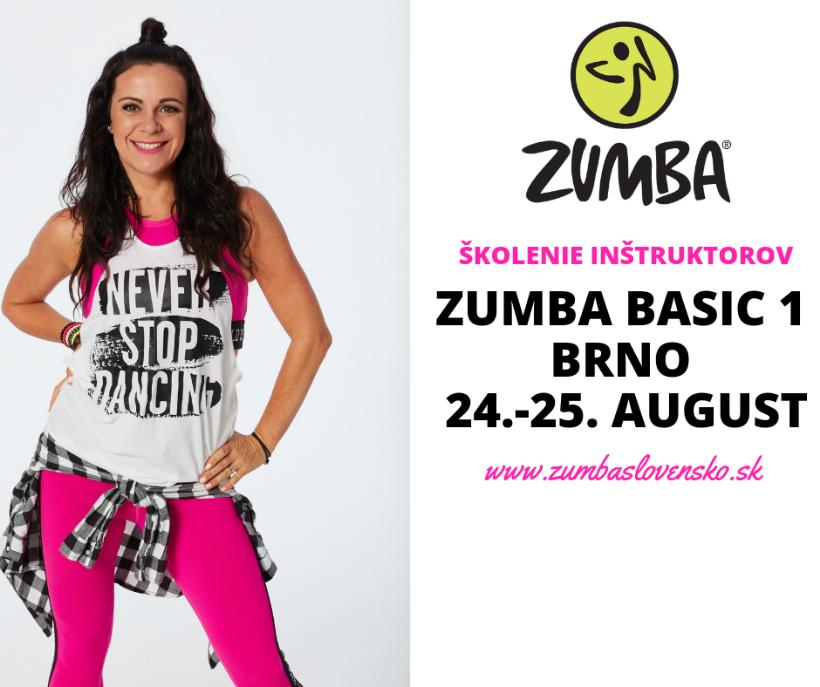 Zumba Basic 1 - školenie inštruktorov