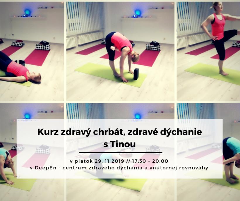 Zdravý chrbát, zdravé dýchanie (kurz)