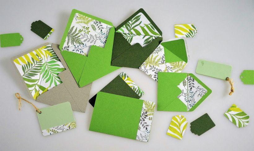 Obálky, pozdravy, menovky – workshop