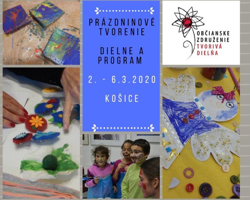 Jarné tvorivé dielne počas prázdnin v Starom meste Košice