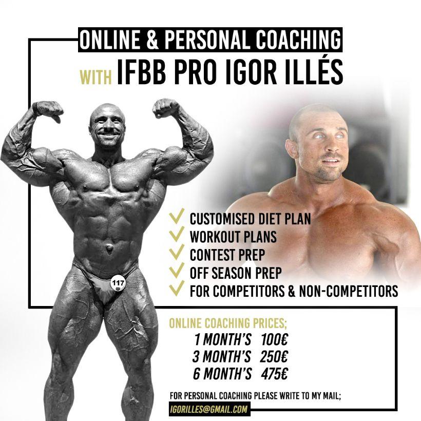 Profesionalny Tréner a Profesionalny Kulturista IFBB PRO