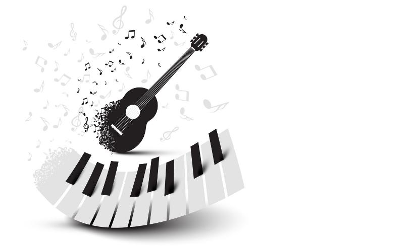 Lekcie Gitara a Klavír