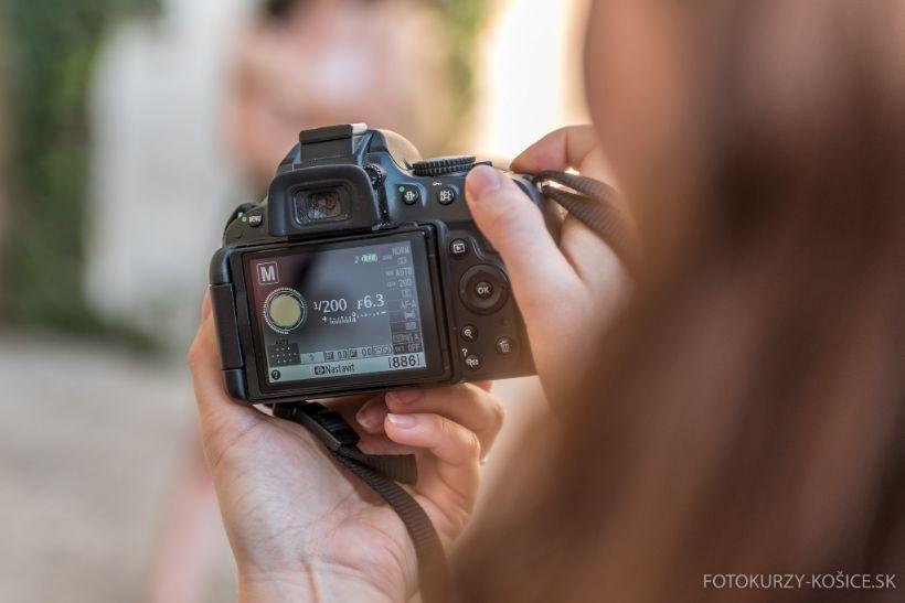 Kurzy fotografovania a grafickej úpravy fotografií